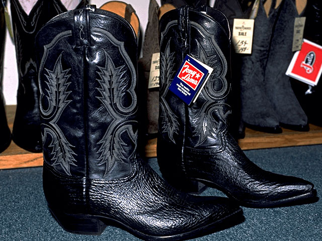 Shark Skin Boots Stronger Than Cowhide